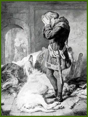 Llewellyn och hans modiga varghund